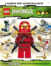Lego Ninjago : masters of Spinjitzu : l'album des autocollants