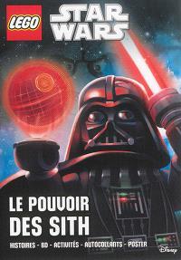 Lego Star Wars : le pouvoir des Sith : histoires-BD-activités-autocollants-poster