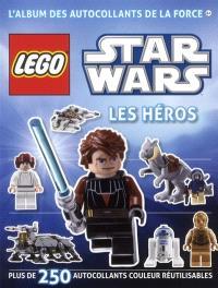 Lego Star Wars : les héros : plus de 250 autocollants couleur réutilisables
