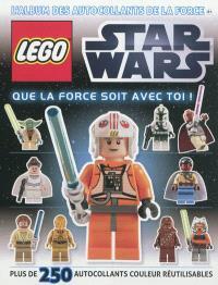 Lego Star wars : que la force soit avec toi ! : l'album des autocollants de la force