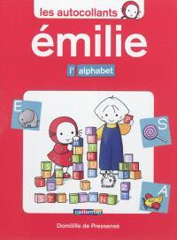 Les autocollants d'Émilie, L'alphabet