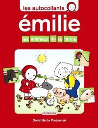 Les autocollants d'Émilie, Les animaux de la ferme