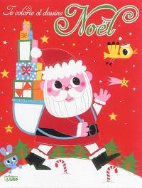 Les cadeaux du Père Noël : je colorie et dessine Noël