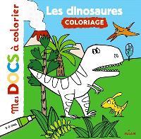 Les dinosaures : coloriage