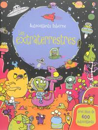 Les extraterrestres : avec plus de 400 autocollants
