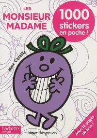 Les Monsieur Madame : 1.000 stickers en poche !