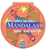 Les plus beaux mandalas pour enfants. Volume 2, Orange