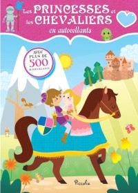 Les princesses et les chevaliers en autocollants