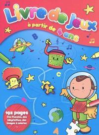 Livre de jeux, à partir de 4 ans