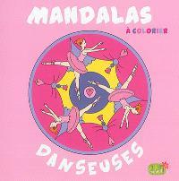 Mandalas à colorier : danseuses
