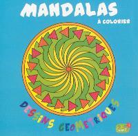 Mandalas à colorier : dessins géométriques