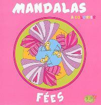 Mandalas à colorier : fées