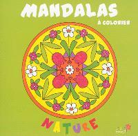 Mandalas à colorier : nature