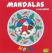 Mandalas à colorier : Noël