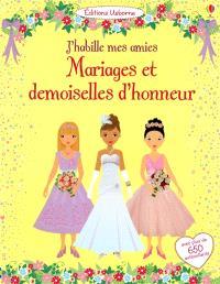 Mariages et demoiselles d'honneur