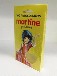 Martine : 100 autocollants : princesses