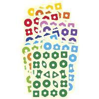 Maxi-gommettes formes
