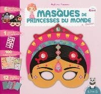 Mes masques de princesses du monde : à décorer