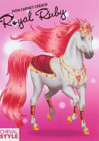 Mon carnet créatif : Royal Ruby