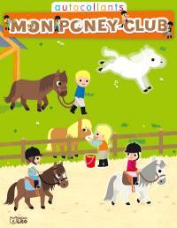 Mon poney-club : autocollants : le pré