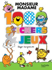 Monsieur Madame : 1.000 stickers et jeux