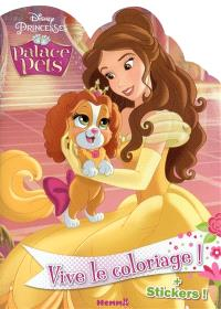 Palace Pets : vive le coloriage ! Belle : + stickers