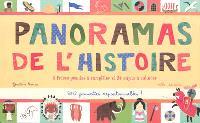 Panoramas de l'histoire : 8 frises géantes à compléter et 24 sujets à colorier