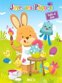 Pâques : colle et joue
