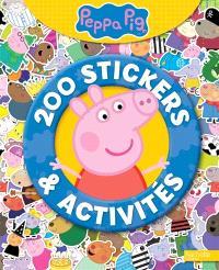 Peppa : 200 stickers & activités