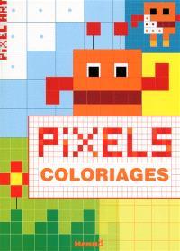 Pixel : coloriages