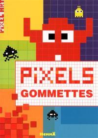 Pixel : gommettes