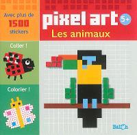 Pixel art : les animaux