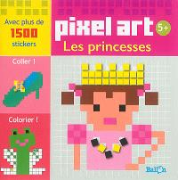 Pixel art : les princesses