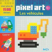 Pixel art : les véhicules