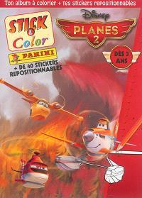 Planes 2 : + de 40 stickers repositionnables