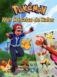 Pokémon : mes décalco de Kalos