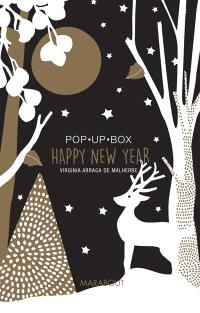 Happy new year : pop up box