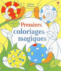 Premiers coloriages magiques