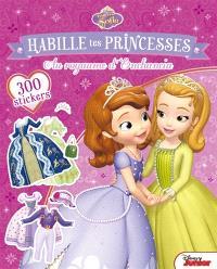 Princesse Sofia : habille tes princesses : au royaume d'Enchancia