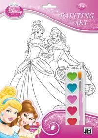 Princesses : set de coloriages et peinture