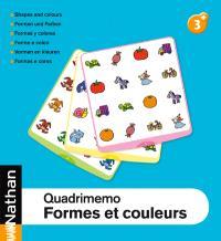 Quadrimemo fichier, formes et couleurs