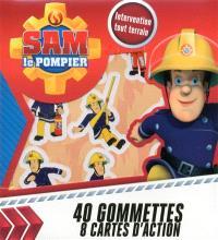 Sam le pompier : intervention tout terrain : 40 gommettes, 8 cartes d'action