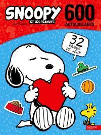 Snoopy et les Peanuts : 600 autocollants