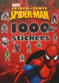 Spider-Man spider sense : 1.000 stickers