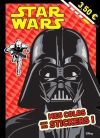 Star Wars : mes colos avec des stickers ! : Dark Vador
