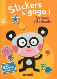 Stickers à gogo ! : animaux attachants