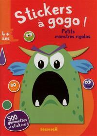 Stickers à gogo ! : petits monstres rigolos