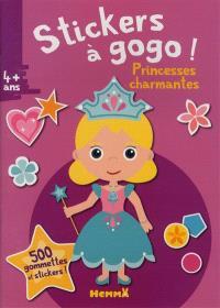 Stickers à gogo ! : princesses charmantes