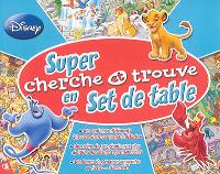 Super cherche et trouve en set de table : Disney