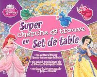 Super cherche et trouve en set de table : Disney princesses